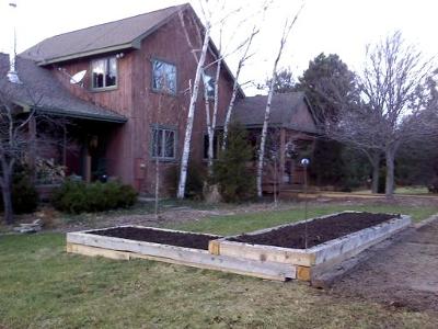 Farm Soil Amendments, Raised Bed