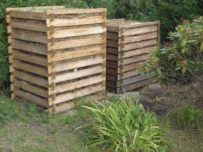 Composting boxes